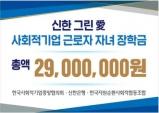 사회적기업 근로자자녀장학금 2,900만원 전달