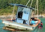 완도해경, 금일도 인근해상 암초에 걸린 어선 구조 인명피해 없어